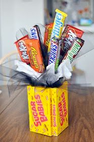 Love this candy bouquet