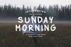 Best Sunday Morning - Custom Font