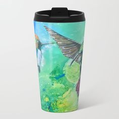 Hummingbirds beautiful and bright. Two colorful species. @anoellejay @society6