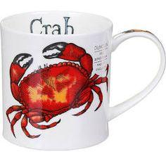 Dunoon Crab Orkney Shape Mug