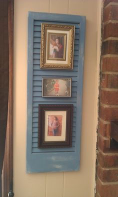 repurpos+shutters | Repurposed Shutter | I SHUTTER To Think....