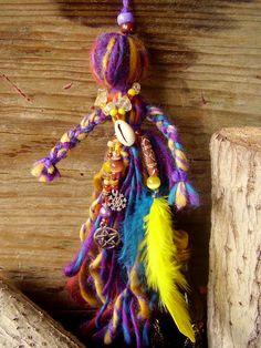 wool poppets