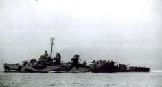 The destroyer USS Callaghan (DD 792), shown here, was the last US Navy ship to be sunk by kamikaze attack, on 28 July 1945, with 47 of her crew lost.