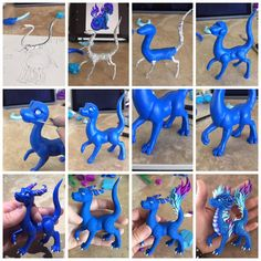 Diy Resin Crafts, Diy And Crafts, Arts And Crafts, Polymer Clay Dragon, Polymer Clay Jewelry, Lps Pets, Play Clay, General Crafts, Air Dry Clay