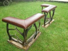 Antler Club Fire Fender Seats - Leather - The Flying Fox