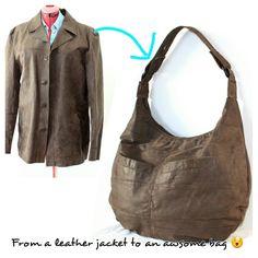 Brun, lækker taske :-)  