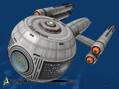 USS Archon via trekbbsI've always wanted to explore more spherical-hulled ships. What do you think?