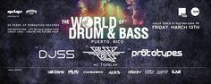 The World of Drum & Bass: Puerto Rico 2015 #sondeaquipr #worlddrumbasspr #onebar #viejosanjuan #sanjuan