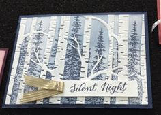 Woodland Textured Impressions Embossing Folder - Stampin' Studio