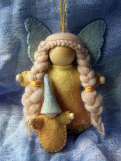 Anjo de feltro #angel