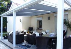 Terrassendach Aluminum mit Glas