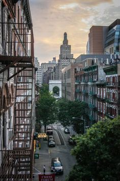 Early Sunday morning, Greenwich Village, NYC
