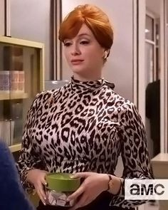 The Season Finale of Mad Men Is Tonight! Look Back At the Best Style Moments - Episode 13: Joan's Femme Fatale Blouse from #InStyle