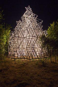 Storming Heaven wood pavilion by Manipulazione Internazionale
