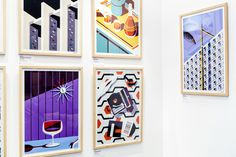Kentucky based Jeremy Booth is a self-taught graphic designer who created a collection of mid-century inspired prints after a trip to Palm Springs.