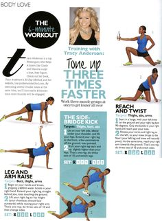 tone up with Tracy Anderson