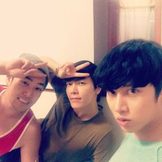 Donghae IG Update with Kangin  Heechul