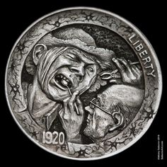 I don 39 t own one of these hobo nickles but i would like to for Heebie jeebies tattoo