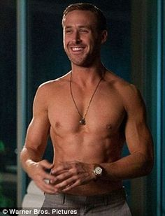 Remember when... Ryan Gosling shirtless in his 2011 film Crazy, Stupid, Love