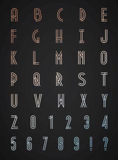 신선한 무료 글꼴