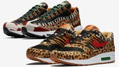 """hot sale online af60a e640a Last Thursday, the two upcoming atmos x Nike Air Max """"Animal Pack offerings  hit the Nike SNKRS app as part of an exclusive reservation-type release."""