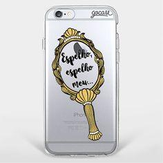 Capinha para celular Espelho Meu (55 BRL) ❤ liked on Polyvore featuring accessories