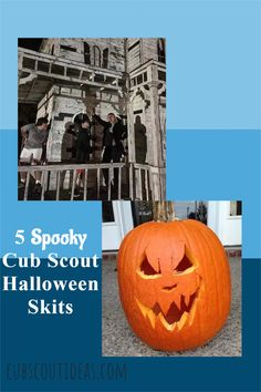 Check out these spooky but fun Halloween skits for Cub Scouts. They're perfect Halloween skits for kids, so use them for class parties too! #CubScouts #CubScout #Scouting #Webelos #ArrowOfLight #CubScoutIdeas Cub Scout Skits, Cub Scout Activities, Scout Leader, Team Leader, A Team, Skits For Kids, Activities For Boys, Group Games, Fun Games