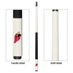 The Cardinal Pool Cue Stick make a great gift for any Arizona Fan and Billiards player!