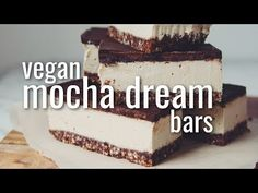 VEGAN MOCHA DREAM BARS | hot for food - YouTube