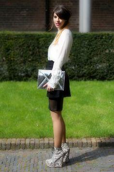 Swiss Fashion Blogger, Maryleen Blog: fashionbirds.net. Outfit: Futuristic