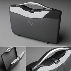 G3 Carbon Fiber Attaché Case by Nikoladesign
