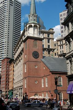Boston - Old South Meeting House by mbell1975, via Flickr. This house was used in the American Revolution