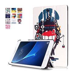 Galaxy Tab A 7.0 T280 Case-SAVYOU Ultra Slim Tri-Fold Cas...