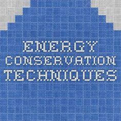 OT energy conservation techniques