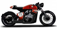 Honda Shadow VT600 Cafe Racer by Rocket Supreme #motorcycles #caferacer #motos   caferacerpasion.com