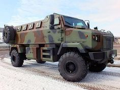 KrAZ Shrek Modern Ukrainian military equipment