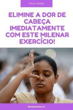Eliminar dor de cabeça #saúde #saudável #dordecabeça