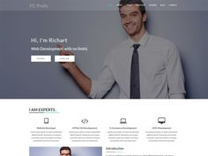 FC Profy - Onepage resume website template