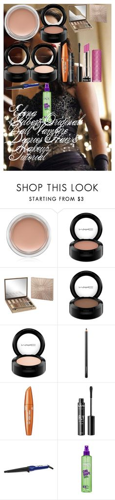 """Elena Gilbert-Originals Ball Vampire Diaries Hair & Makeup Tutorial"" by oroartyellie on Polyvore featuring beauty, MAC Cosmetics, Urban Decay, NYX, Revlon, Conair and Garnier"