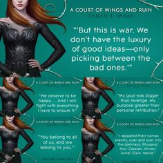 I have a pretty good guess as to what circumstances most of these are ToT #acowar