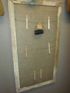 Bulletin BoardJewelry Organizer Finished Projects Pinterest