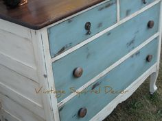 """refinished dressers 