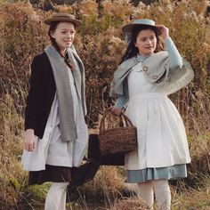 Amybeth McNulty (Anne Shirley) and Dalila Bela (Diana Barry) in Anne with an E Orphan Black, Grey's Anatomy, Diana Barry, Tomorrow Is The Day, Amybeth Mcnulty, Gilbert And Anne, Anne White, Gilbert Blythe, Anne With An E