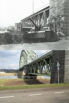 Across the Rhine near Driel at the Railway bridge underpass (called Dead mans Corner by the 101st Airborne division). https://www.warhistoryonline.com/featured/arnhem-then-and-now.html/2