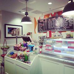 Churn ice cream parlor in Phoenix, AZ // via asighttobehold on instagram