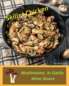 One Skillet Low-Carb Chicken Meal!
