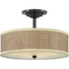 I pinned this Zen Semi-Flush Mount from the Quoizel event at Joss and Main!
