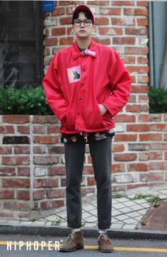 고권우 > Street Fashion   힙합퍼