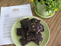 no bake eggless brownies - Copy