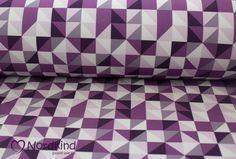 Weiteres - Softshell grafische Muster lila - ein Designerstück von Nordkind_handmade bei DaWanda